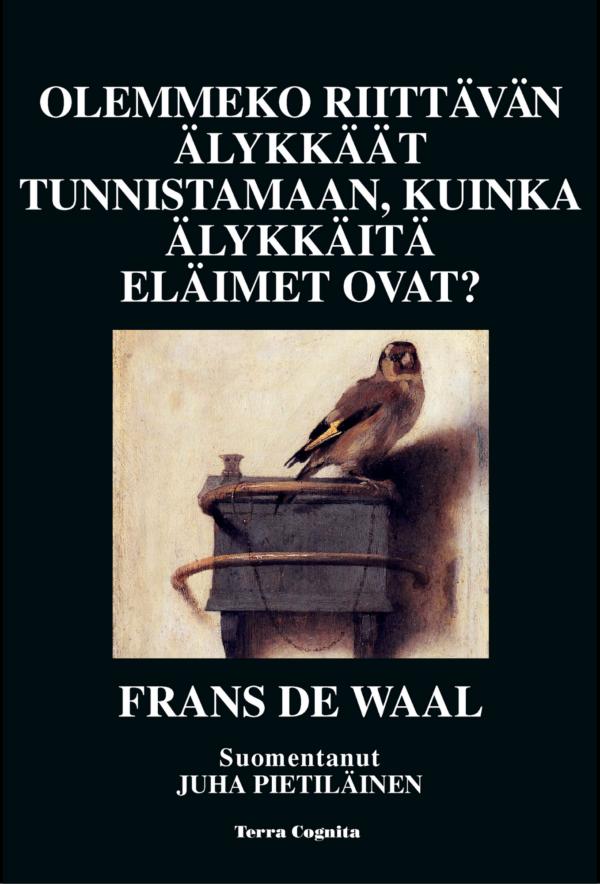 Frans de Waal, Olemmeko riittävän älykkäät tunnistamaan, kuinka älykkäitä eläimet ovat?